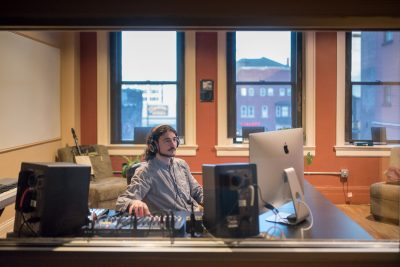 Joe Jacobs at work