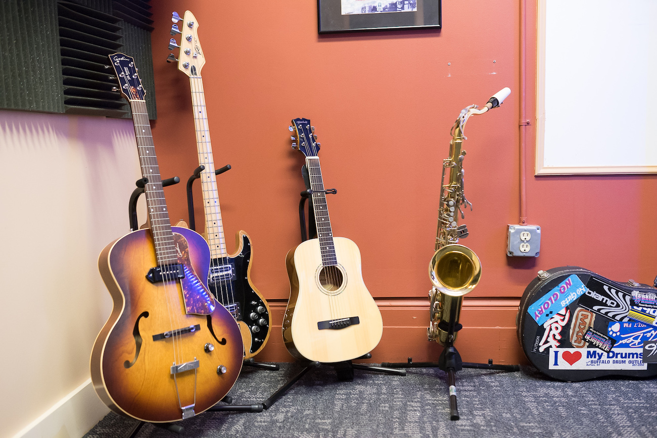 Instruments: guitars & saxaphone