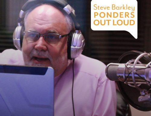 Steve Barkley Records 100th Episode of his Podcast at Nickel City Sound & Media